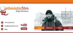 internet prezentacija Optimisticfilm