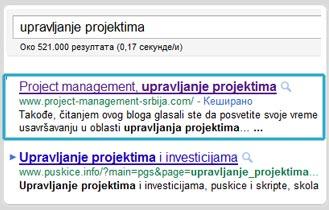 Upravljanje projektima